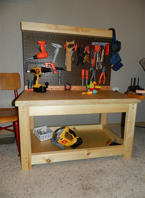 Kids-Workbench-Plans