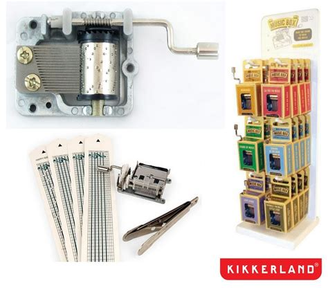 Kikkerland DIY Music Box Kit