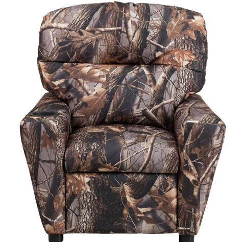 Kimsey Camouflaged Kids Polyester Chair