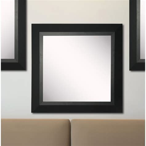Kimzey Attractive Matte Black Wall Mirror (Set Of 3) By Charlton Home