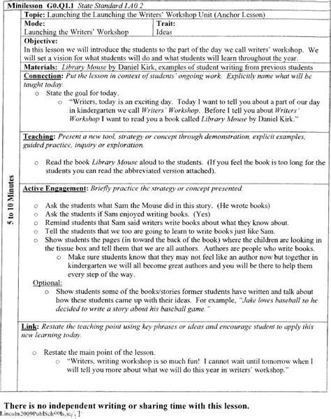 Kindergarten-Writing-Workshop-Lesson-Plans