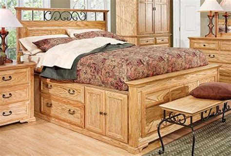 King Captains Bed Wood Plans