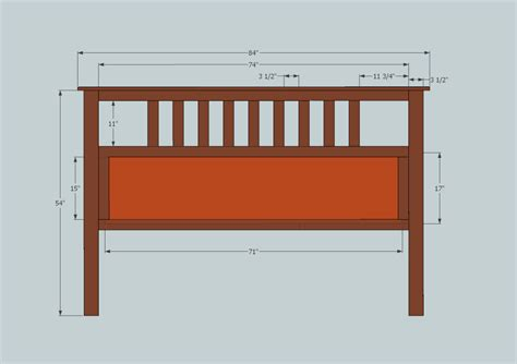 King Headboard Building Plans