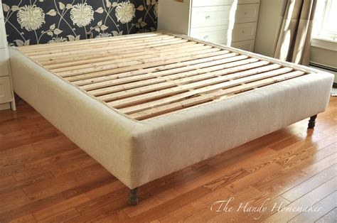 King Size Bed Frame Plans Diy Iambic Paddles