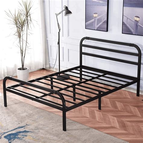 King Size Bed Frame Plans With 19 4x4 Legs