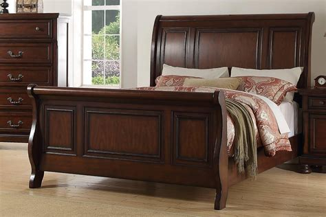 King Sleigh Bed Plans