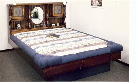 King Waterbed Plans