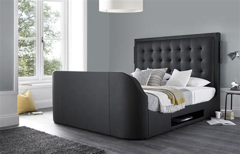 King-Size-Bed-Frame-With-Tv-Designs-Plans