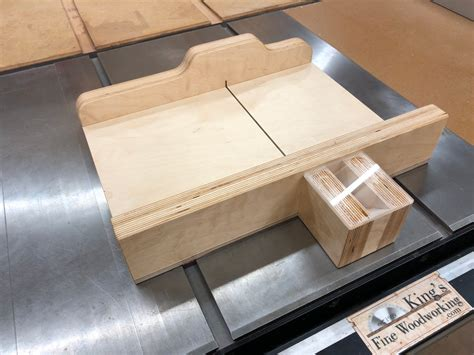 Kings Fine Woodworking Sled