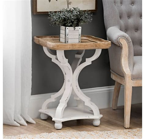 Kirklands-Farmhouse-Accent-Table