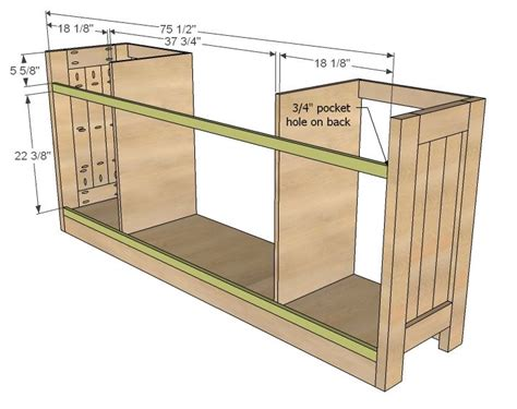 Kitchen Buffet Woodworking Plans