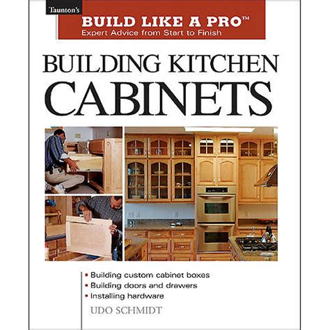Kitchen Cabinet Construction Books