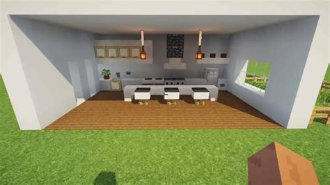 Kitchen Cool Building Ideas In Minecraft
