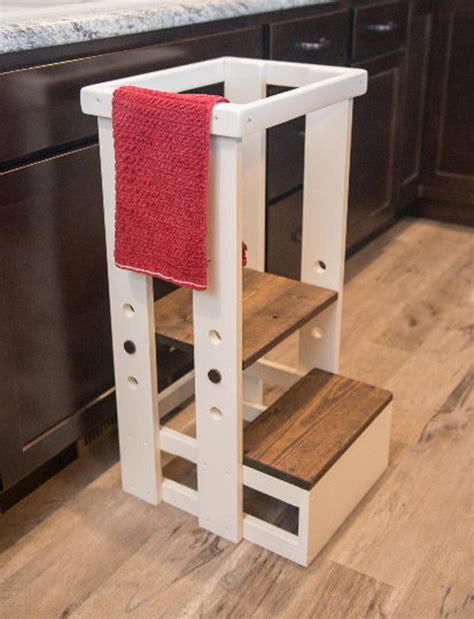 Kitchen Helper Stool Plans