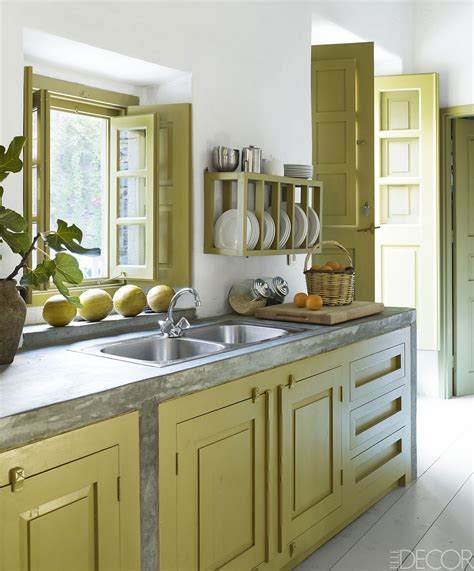Kitchen Ideas Green Color