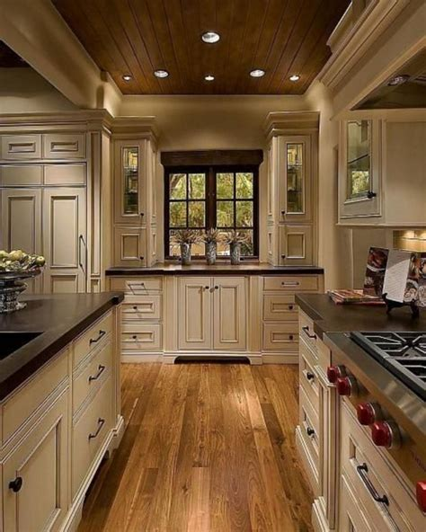 Kitchen Ideas Light Cabinets Dark Countertops
