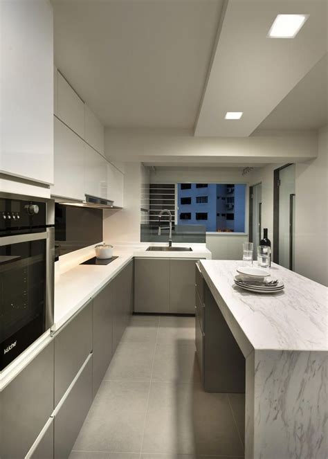 Kitchen Island Design Hdb