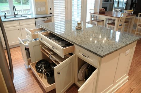 Kitchen Island Ideas With Storage