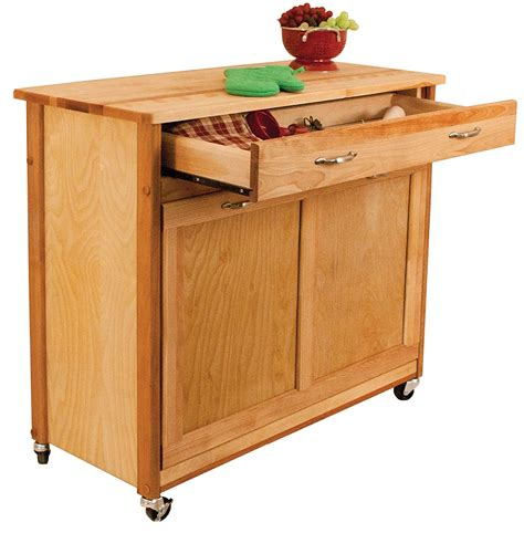 Kitchen Island Plans With Pull Out Trash