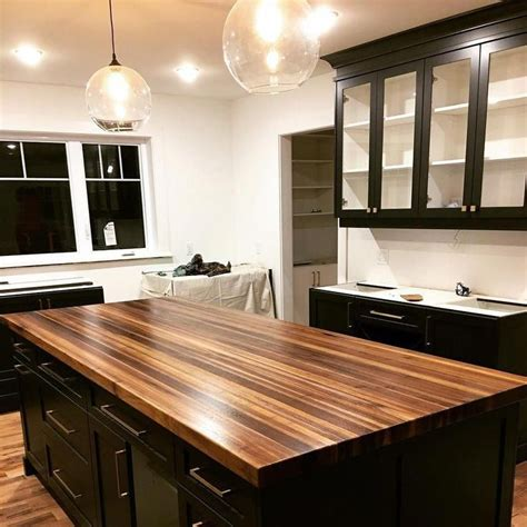 Kitchen Island Wood Top Diy Blogs