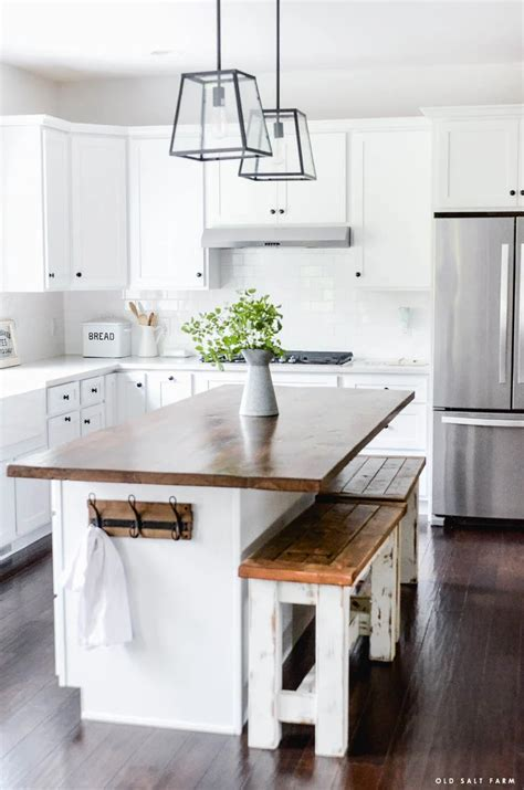 Kitchen Island Wood Top Diy Desserts