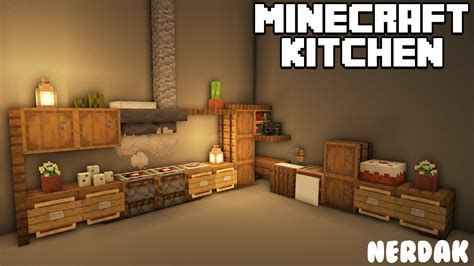 Kitchen Minecraft House Designs Youtube