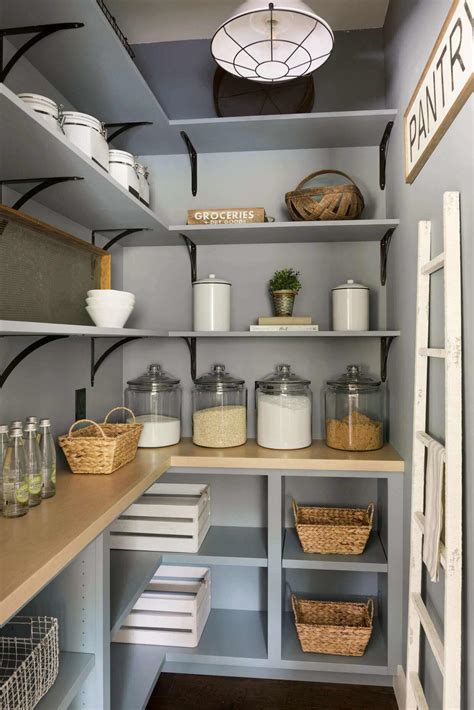 Kitchen Pantry Shelves Plans