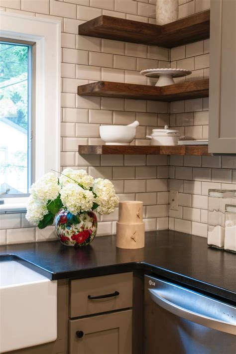 Kitchen Wall Cabinet Corner Shelf