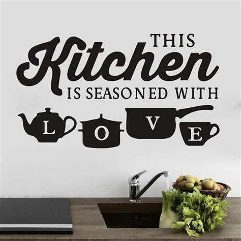 Kitchen Wall Decor Quotes