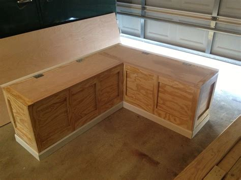 Kitchen Wooden Storage Bench Seat Plans
