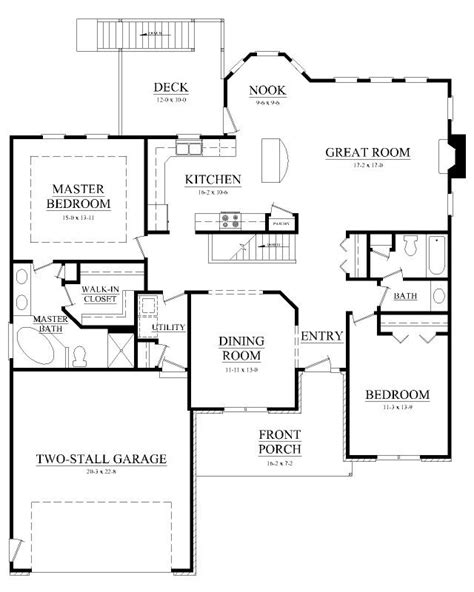Kitchen-Floor-Plans-With-Breakfast-Nook