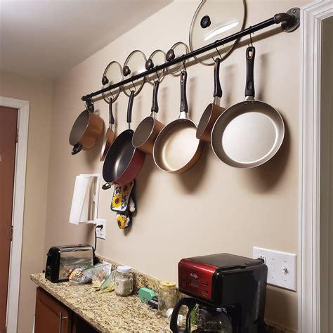 Kitchen-Pan-Rack-Diy