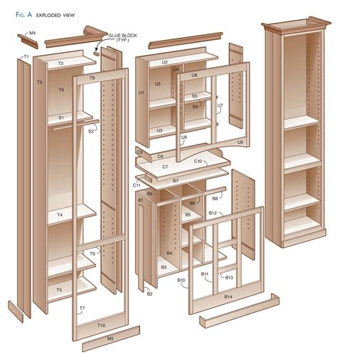 Kitchen-Pantry-Plans-Woodworking