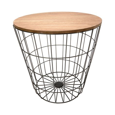 Kmart Wire Basket Side Table