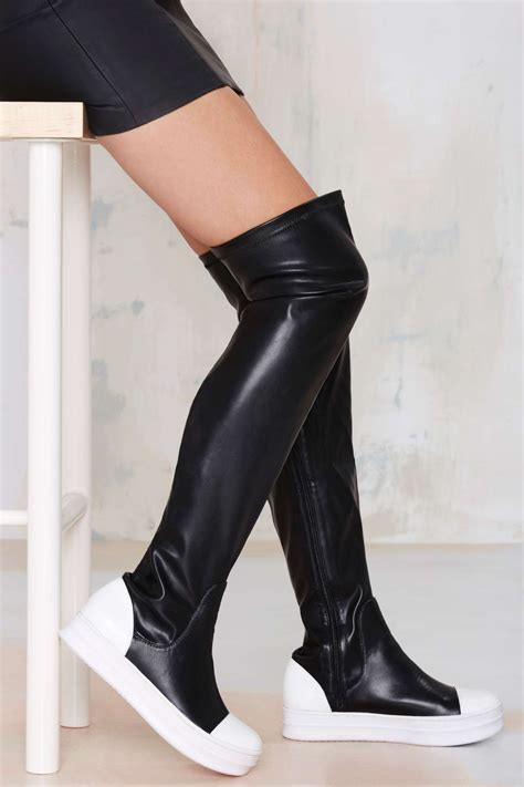 Knee High Nike Sneakers