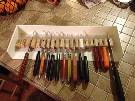 Knife Drawer Storage Diy Kitchen
