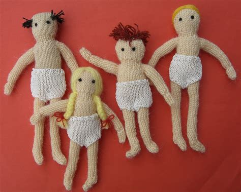 Knit Patterns For Dollhouse Dolls