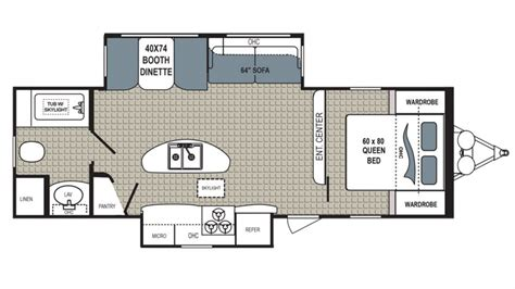 Kodiak Campers By Ultimate Floor Plans