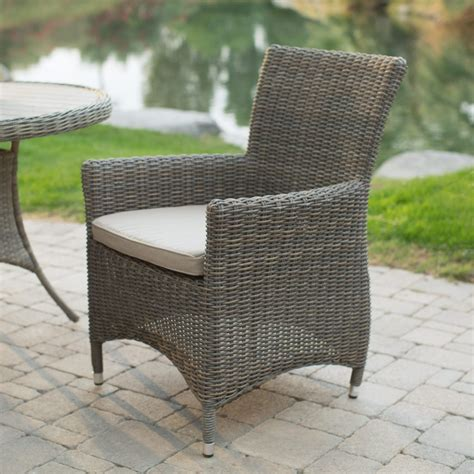 Kohls Outdoor Wicker Look Dining Chairs