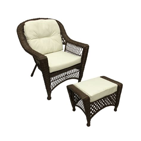 Kona Cushion Recliner And Ottman