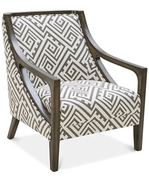 Kourtney Graphite Accent Chair Macy'S
