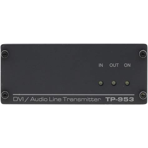 Kramer Electronics TP-953 DVI and Audio Over Twisted Pair Transmitter