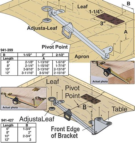 Kreg Draw Leaf Table Plans