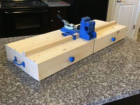 Kreg Jig Plans Workbench Vise For Woodworkers