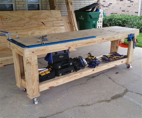 Kreg Jig Plans Workbenches Woodworking