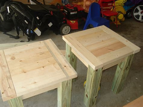 Kreg Jig Side Table Plans