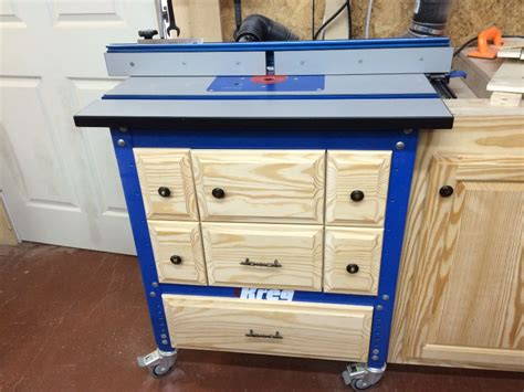 Kreg Router Table Cabinet Plans