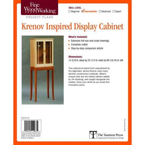 Krenov-Inspired-Display-Cabinet-Plan