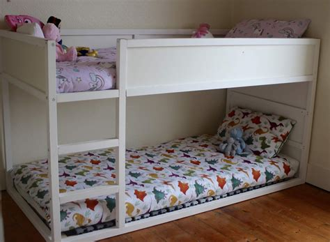 Kura Bunk Bed Diy Ladder