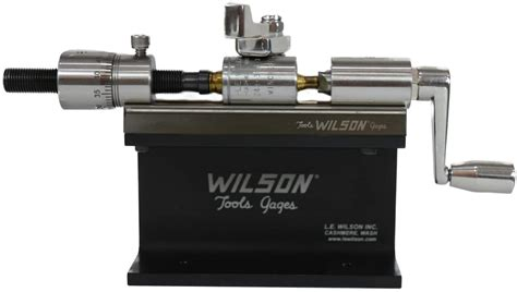 L E Wilson Ct-Sskit Case Trimmer Kit Stainless Steel With .